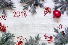 Νέο υπόβαθρο καρτών έτους ` s Στοκ Φωτογραφία