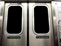 νέο υπόγειο τρένο Υόρκη πόλεων Στοκ φωτογραφίες με δικαίωμα ελεύθερης χρήσης