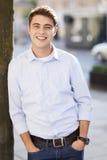 Νέο χαμόγελο τύπων Στοκ εικόνες με δικαίωμα ελεύθερης χρήσης