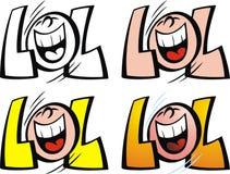 Νέο χαμόγελο lol ελεύθερη απεικόνιση δικαιώματος