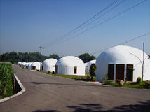 νέο χωριό Στοκ Εικόνες