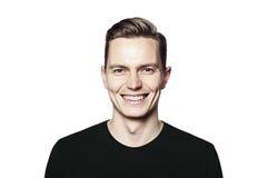Νέο όμορφο άτομο που χαμογελά σε σας Στοκ Φωτογραφία