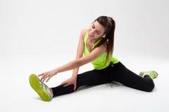 Νέο όμορφο αθλητικό κορίτσι Στοκ εικόνα με δικαίωμα ελεύθερης χρήσης