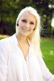 Νέο όμορφο κορίτσι Στοκ Φωτογραφίες