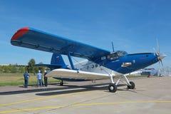 Νέο Antonov ένας-2 Στοκ εικόνα με δικαίωμα ελεύθερης χρήσης
