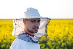 Νέο apiarist Στοκ Φωτογραφία