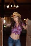 Νέο cowgirl στοκ φωτογραφία