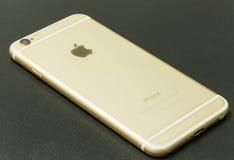 Νέο iPhone 6 χρυσός Στοκ Εικόνες