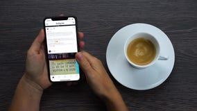 Νέο iPhone Χ απόθεμα βίντεο