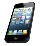 Νέο iPhone 5 μήλων Στοκ φωτογραφία με δικαίωμα ελεύθερης χρήσης