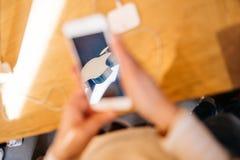 Νέο iPhone 6S και iPhone 6s συν Στοκ Φωτογραφίες