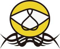 Νέο Logotype τρομερό Στοκ εικόνες με δικαίωμα ελεύθερης χρήσης