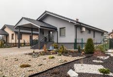 νέο ravenswood UK του Ίπσουιτς κατοικίας κτημάτων Στοκ φωτογραφία με δικαίωμα ελεύθερης χρήσης