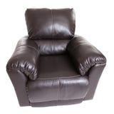 νέο recliner δέρματος Στοκ Φωτογραφία