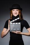 Νέο redhead κορίτσι Στοκ φωτογραφίες με δικαίωμα ελεύθερης χρήσης