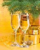 νέο s έτος διακοσμήσεων Στοκ Εικόνα