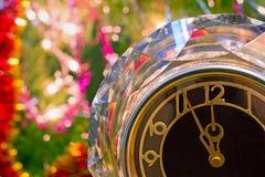 νέο s έτος παραμονής Πριν από το νέο έτος πέντε λεπτά Στοκ φωτογραφία με δικαίωμα ελεύθερης χρήσης