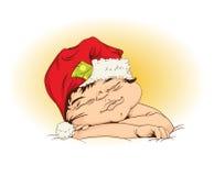 νέο s έτος ύπνου μωρών Στοκ Εικόνες