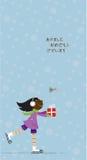 νέο s καρτών έτος Χριστουγέν Στοκ Φωτογραφία