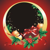 νέο s Χριστουγέννων έτος πλ&a Στοκ Εικόνες