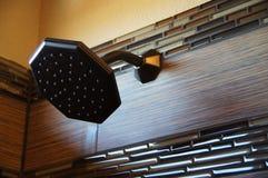 Νέα μακροεντολή Showerhead Στοκ Φωτογραφίες