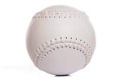 νέο softball λευκό Στοκ φωτογραφίες με δικαίωμα ελεύθερης χρήσης