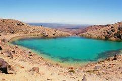 νέο tongariro Ζηλανδία λιμνών Στοκ φωτογραφία με δικαίωμα ελεύθερης χρήσης