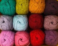 Νήματα χρώματος Στοκ εικόνες με δικαίωμα ελεύθερης χρήσης