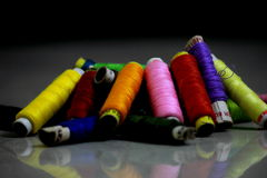 Νήματα χρώματος Στοκ φωτογραφία με δικαίωμα ελεύθερης χρήσης