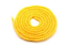 νήμα κίτρινο Στοκ Φωτογραφία