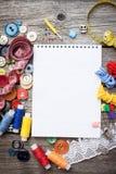 Νήμα και ράψιμο στοκ φωτογραφίες με δικαίωμα ελεύθερης χρήσης