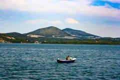 Νήπιο αλιευτικών σκαφών των βουνών Στοκ Εικόνα