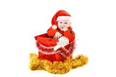 νήπιο δώρων Χριστουγέννων &kappa Στοκ φωτογραφίες με δικαίωμα ελεύθερης χρήσης