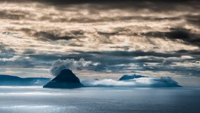 Νήσοι Φαρόι Koltur στοκ εικόνες με δικαίωμα ελεύθερης χρήσης