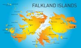 Νήσοι Φώκλαντ Στοκ εικόνες με δικαίωμα ελεύθερης χρήσης