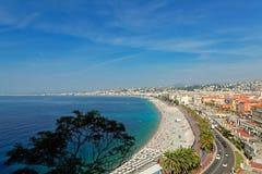 Νίκαια, Γαλλία Στοκ εικόνες με δικαίωμα ελεύθερης χρήσης
