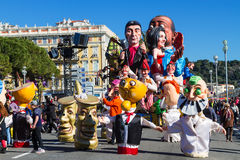 Νίκαια, Γαλλία, καρναβάλι της Νίκαιας στοκ φωτογραφίες με δικαίωμα ελεύθερης χρήσης