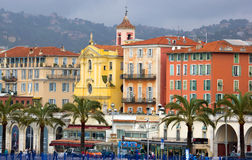 Νίκαια - θέρετρο πολυτέλειας του γαλλικού riviera Στοκ φωτογραφίες με δικαίωμα ελεύθερης χρήσης