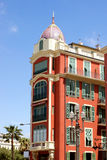 Νίκαια - θέση Massena αρχιτεκτονικής Στοκ Εικόνα