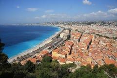 Νίκαια, νότος της Γαλλίας στοκ εικόνες