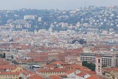 Νίκαια, πόλη, αστική περιοχή, μητροπολιτική περιοχή, εικονική παράσταση πόλης Στοκ Εικόνες
