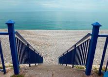 Νίκαια - σκαλοπάτια στην παραλία Στοκ εικόνες με δικαίωμα ελεύθερης χρήσης