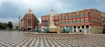 Νίκαια - τοποθετήστε Massena και απόλλωνα Στοκ Φωτογραφία