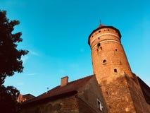 Νίκαια Castle, Olsztyn, στοκ φωτογραφία με δικαίωμα ελεύθερης χρήσης