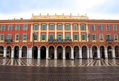 Νίκαια - Plaza Massena Στοκ φωτογραφία με δικαίωμα ελεύθερης χρήσης