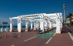 Νίκαια - Promenade des Anglais Στοκ φωτογραφία με δικαίωμα ελεύθερης χρήσης