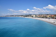 Νίκαια - Promenade des Anglais Στοκ εικόνες με δικαίωμα ελεύθερης χρήσης