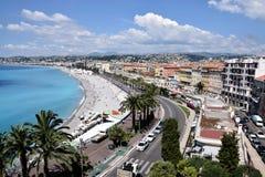 Νίκαια - Promenade des Anglais Στοκ Εικόνα