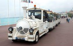 Νίκαια - Trackless τραίνο Στοκ Φωτογραφία