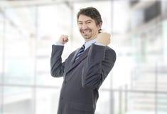 Νίκη επιχειρηματιών στοκ φωτογραφίες